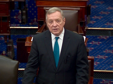 Durbin Proposes Telework For the Senate; McConnell Says No