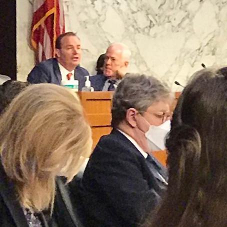 Senate Republicans Do Poor Job Masking At Coney Barrett Hearing