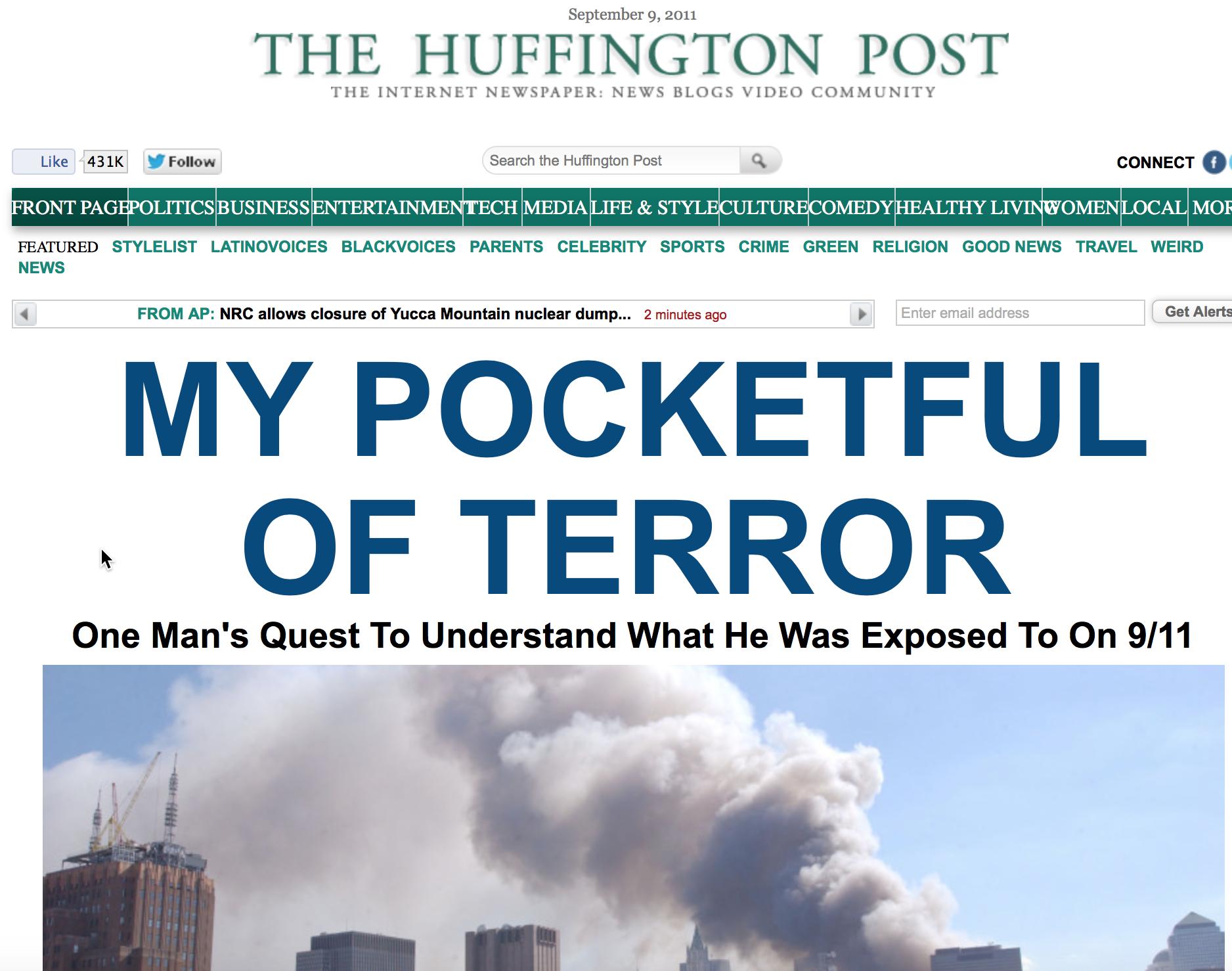 Pocketful of Terror splash