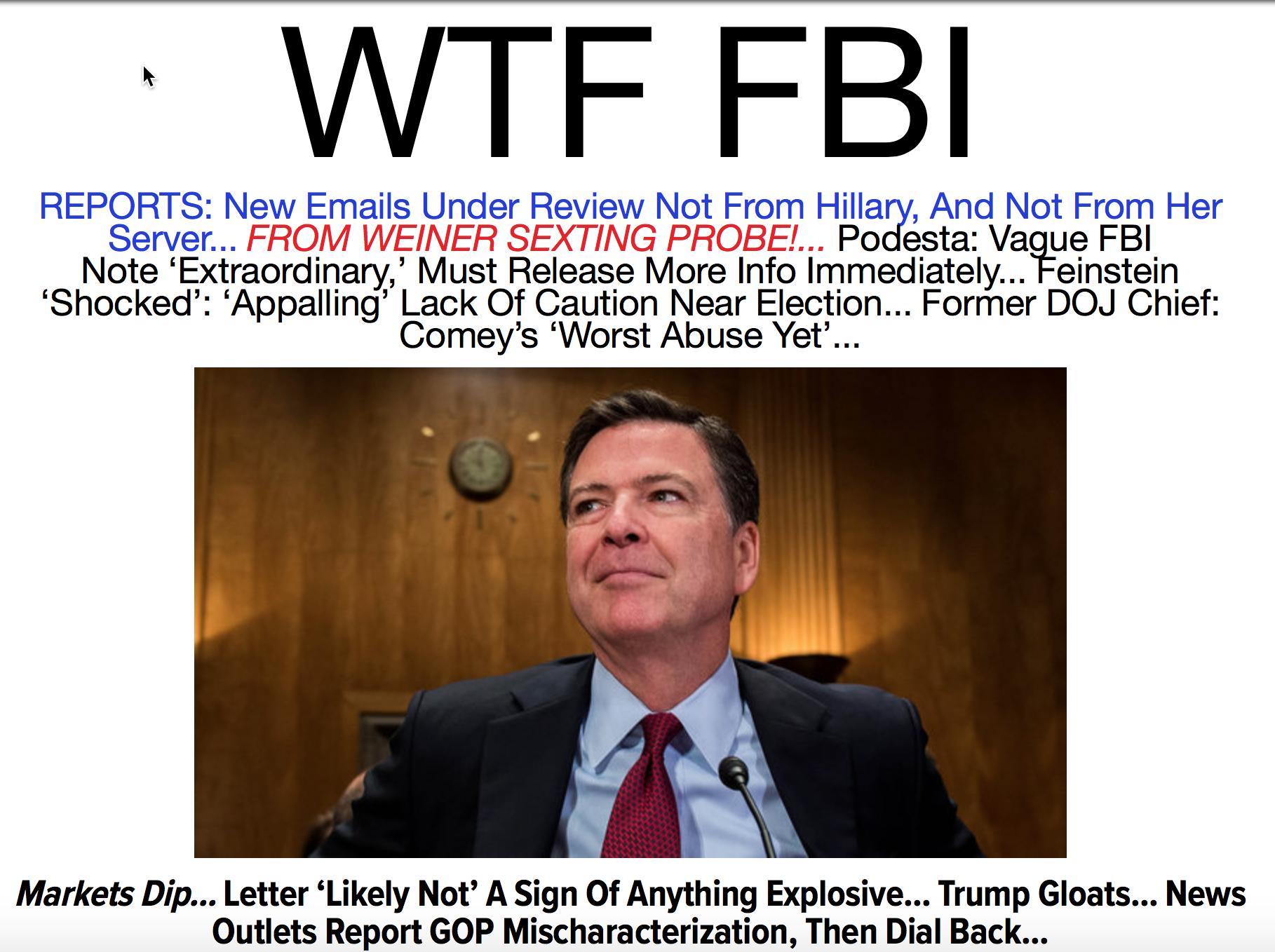 WTF FBI