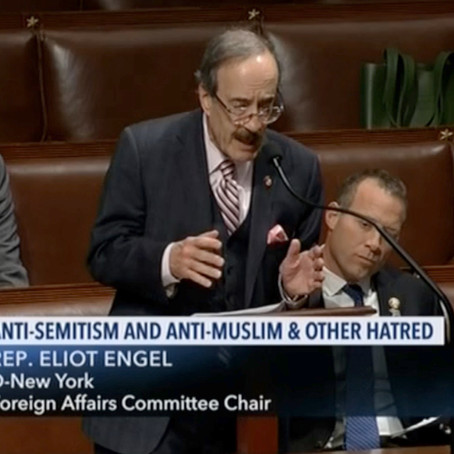 Eliot Engel Really Wanted An Anti-Semitism Vote Alone