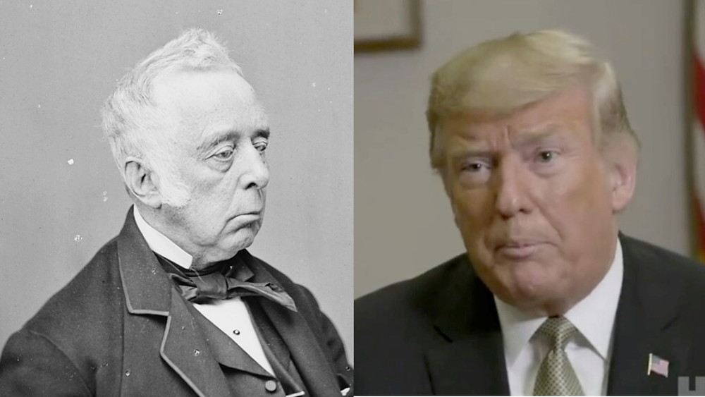 Reverdy Johnson and President Trump