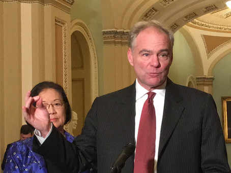 Tim Kaine Says Dems Have Better Things To Do Than Impeaching Trump