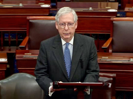 Mitch McConnell Closes Out Trump's Last Hope
