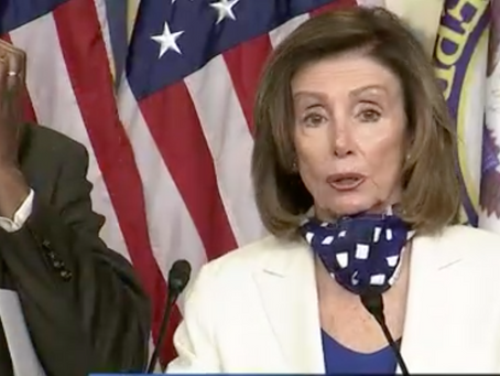 Pelosi Tells Congress 'Think Big' On Next Coronavirus Bill