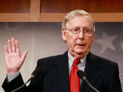 Mitch McConnell will be the target of Democratic pressure after the new Nancy Pelosi-led House passes legislation Thursday to reopen the shuttered parts of the government.