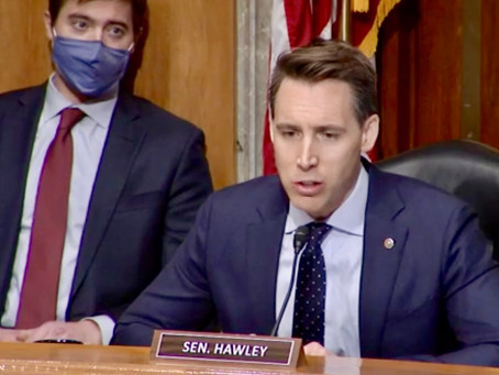 Republicans Rip Josh Hawley's 'Dangerous' Challenge To Biden's Win
