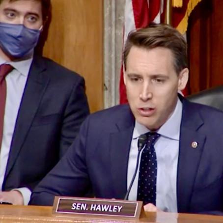 Republicans Rip Josh Hawley's 'Dangerous' Challenge To Biden's Win