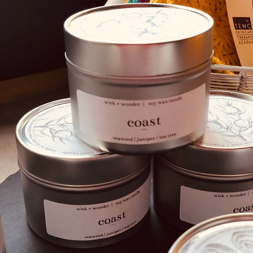 "Wick & Wonder ""Coast"" Candle"