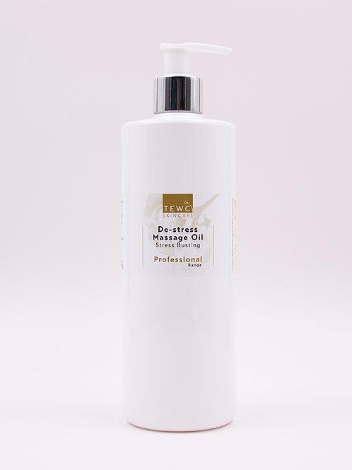 De-stress Massage Oil - 450g