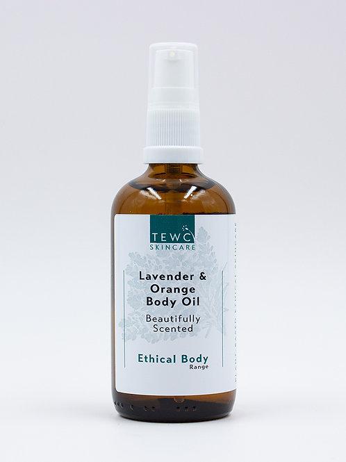 Body Oil - Lavender & Sweet Orange - 90g (RRP £12.50)