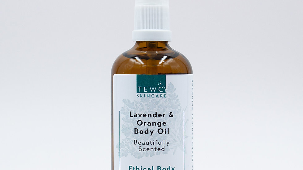 Body Oil - Lavender & Orange - 90g