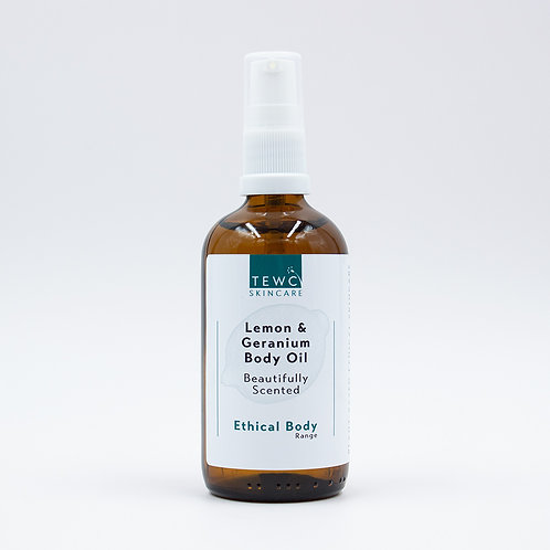 Body Oil - Lemon & Geranium - 90g