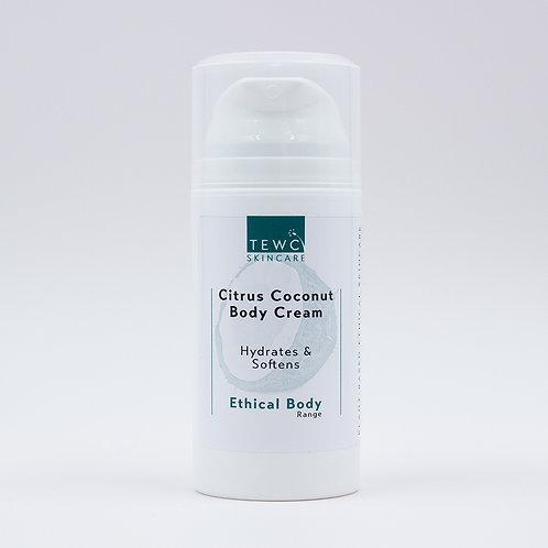 Citrus Coconut Body Cream - 75g