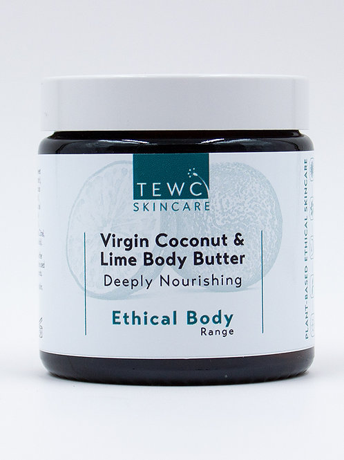 Virgin Coconut and Lime Body Butter - 90g (RRP £14.00)