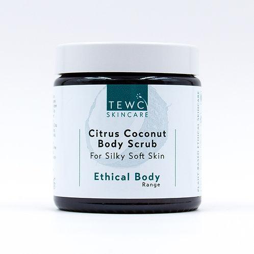 Citrus Coconut Body Scrub - 115g