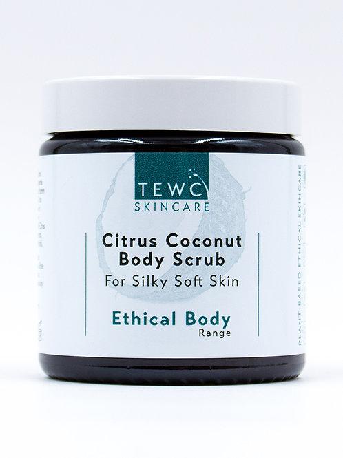 Citrus Coconut Body Scrub - 115g (RRP £14)