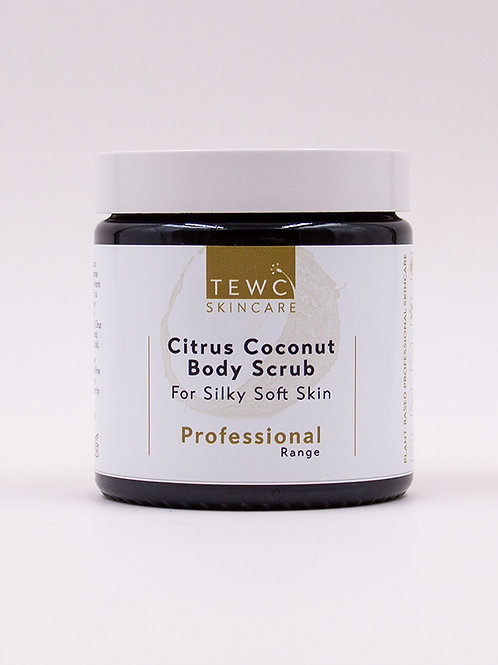 Citrus Coconut Body Scrub - 115g