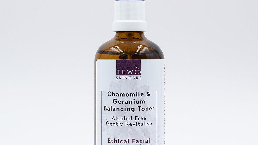 Chamomile & Geranium Balancing Toner - 100g