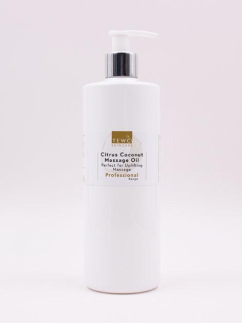 Citrus Coconut Massage Oil - 450g