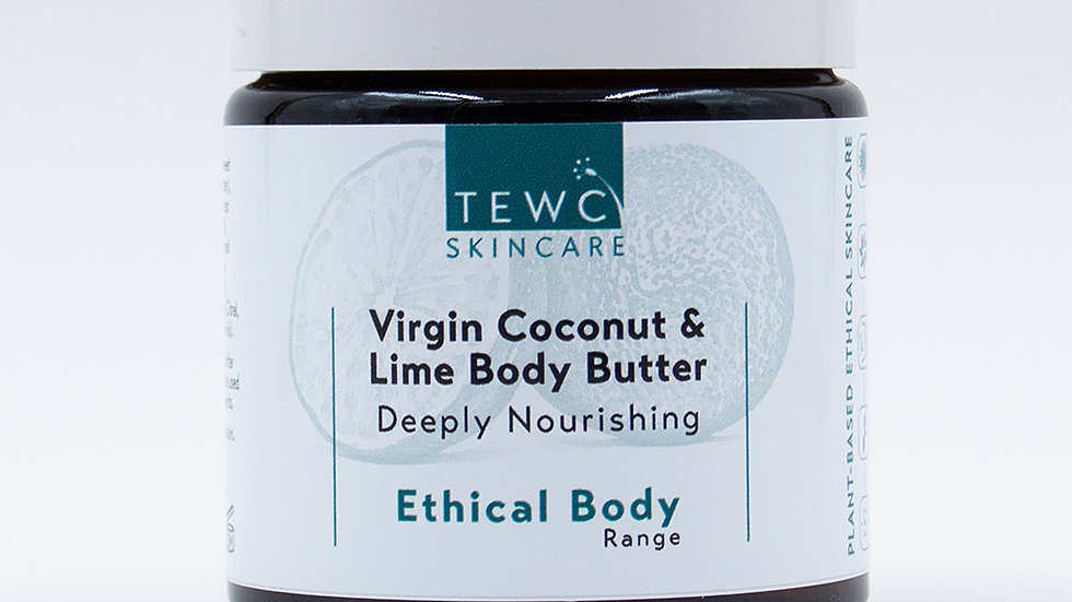 Virgin Coconut and Lime Body Butter - 90g