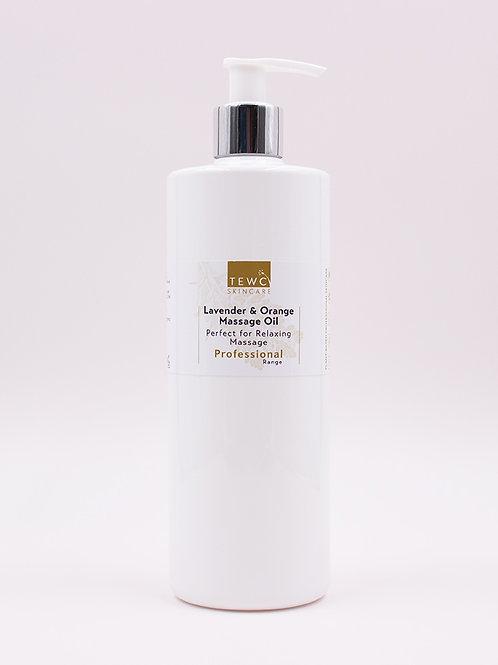Lavender & Sweet Orange Massage Oil - 450g