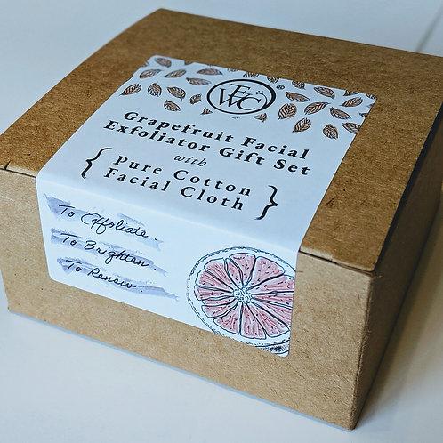 Grapefruit Facial Exfoliator Gift Set