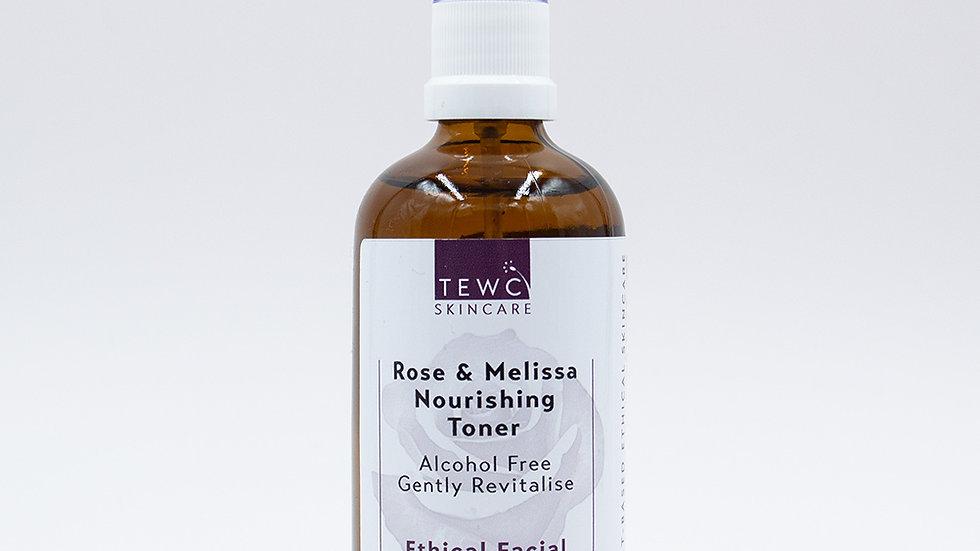 Rose & Melissa Nourishing Toner - 100g