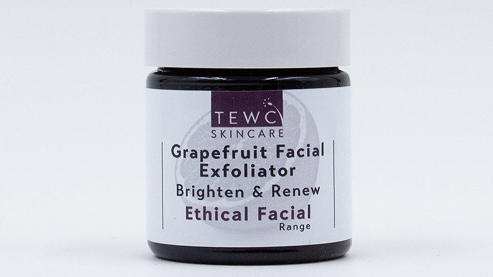 Grapefruit Facial Exfoliator - 30g