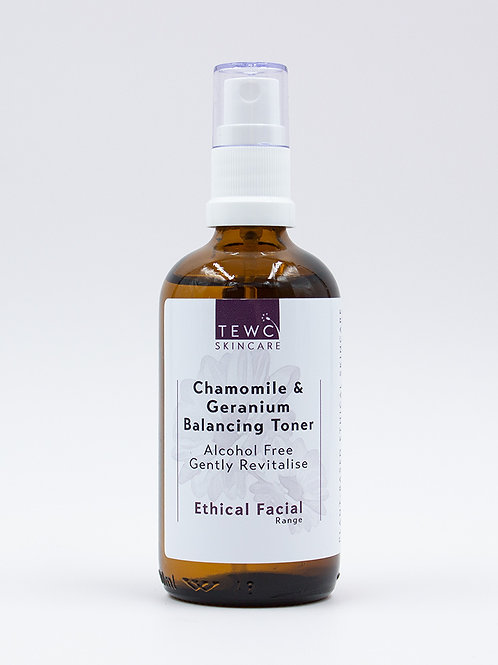 Chamomile & Geranium Balancing Toner - 100g (RRP £12.50)