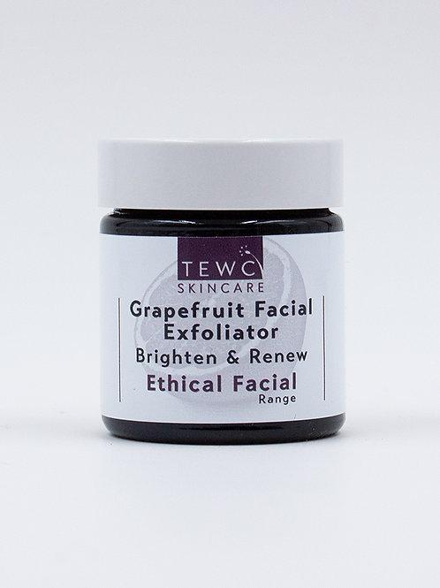 Grapefruit Facial Exfoliator - 30g (RRP £10.00)