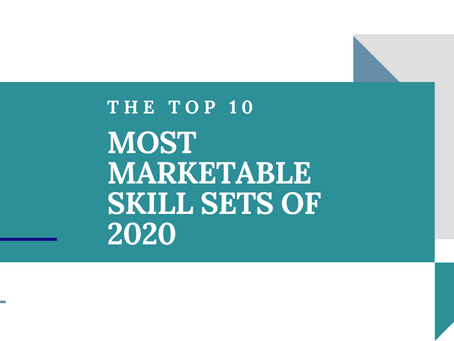 Top 10 Most Marketable Skill Sets of 2020