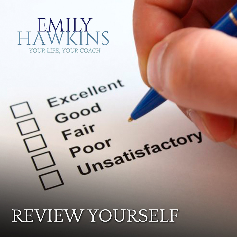 A simple way to review yourself