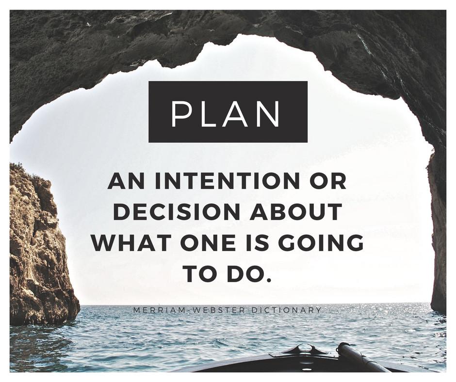Plan definition