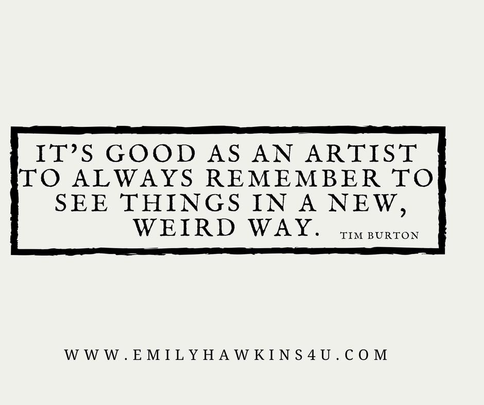 Tim Burton Quote