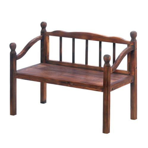 Pleasant Garden Grove Bench Plant Stand Machost Co Dining Chair Design Ideas Machostcouk