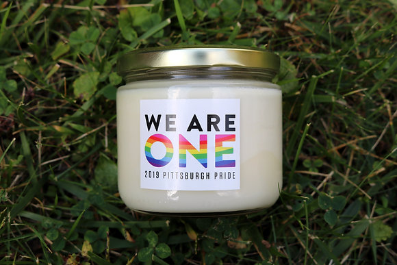 We Are One 12 oz Pride Candle
