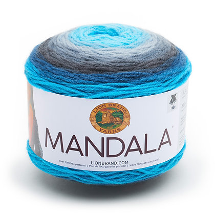 Lion Brand Mandala Yarn - 4 color options