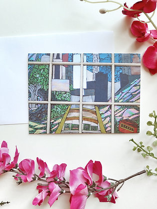 View of Pittsburgh Greeting Card