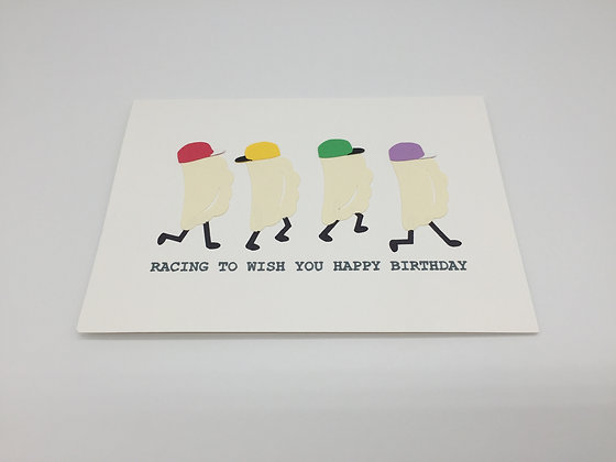 Happy Birthday Pieroghies, greeting card by Sweet Baby Paper Company
