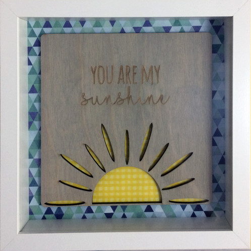 You Are My Sunshine Picture In Frame