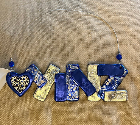 Yinz Have a Happy Hanukkah Wall Hanging or Ornament, by Cathy Frank
