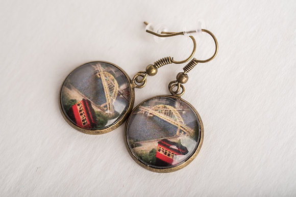 Pittsburgh View Earrings