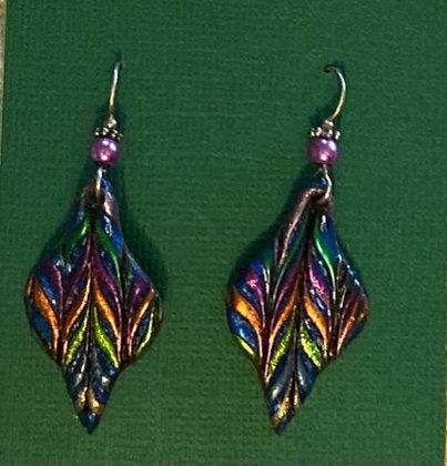 Ornament Earrings by Cathy Frank
