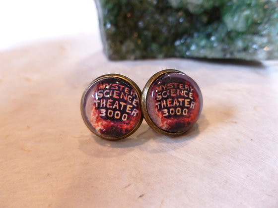 MST3K Inspired Earrings
