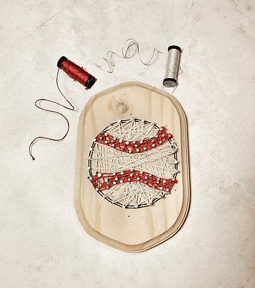 String Art -Baseball