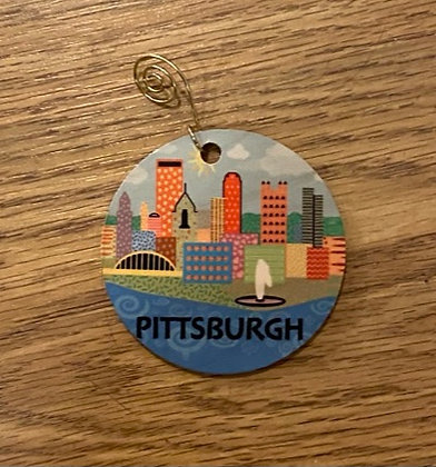 Pittsburgh  Ornament - April Minech