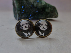 Bill Murray Inspired Earrings