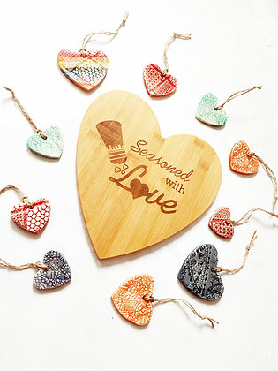 Seasoned with Love Cutting Board