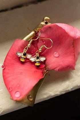 Mini Bee Earrings